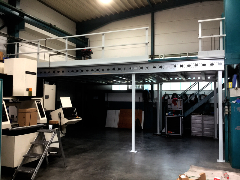 Lagerbühnen und Stahlbaubühnen Konstruktion