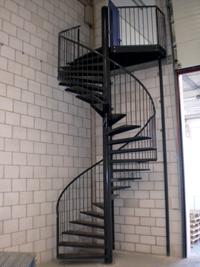 treppe lagerbühne